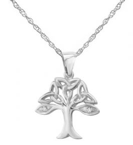 Celtic Tree of Life Silver Pendant 9381